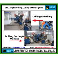 China Top Supplier CNC Angle Drilling, Cutting and Marking Line Transmission Tower Production Line-Our Patent Machine Manufactures