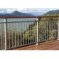 Quality Rot Proof Aluminum Exterior Railings , Aluminum Stair Handrails For Outdoor for sale