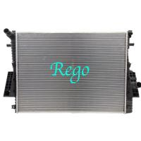 Automotive Car Cooling Radiator Replacement , 2 Row Ford Focus Radiator Replacement Manufactures