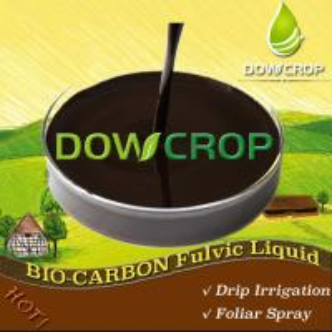 BIO-CARBON@FULVIC BIO STIMULANT LIQUID DOWCROP HIGH QUALITY HOT SALE 100% WATER SOLUBLE Dark Brown Liquid ORGANIC Manufactures