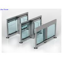 Speed Lane Turnstile Security Systems, Auto Swing Gate Optical Turnstiles Manufactures