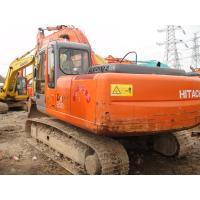 Long Reach Used Crawler Excavator , Hitachi ZX200 Used Excavating Equipment Manufactures