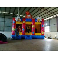 Children Inflatable Sports Games , Clown Inflatable Bouncy Castles Manufactures