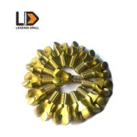 Tungsten Carbide Coal Mining Drill Bits With Extremely Low Broken Pants Rate Manufactures