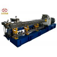 Buy cheap High Performance Fish / Dog Food Extruder Machines Horizontal Twin Screw Type from wholesalers