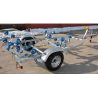 Quality 4.45m Galvanized Steel RIB 480 Inflatable Boat Trailer RIBYS480QR for sale
