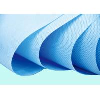 Anti - UV  Blue PP Polypropylene Spunbond Non Woven Carry Bags Manufactures