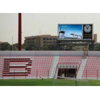 P10 Outdoor Led Stadium Display For Video Score Number , 7000cd / M² Brightness Manufactures