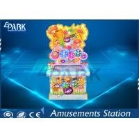 Lovely Fruit Design Coin Operated Amusement Game Machines Happy Knock With 32 Inch Manufactures