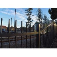 Australia Garrison Fencing Steel Tubular Tube 40mm wall Thick 1.6mm Rails Upright 25mm x 25mm x 1.2mm Manufactures