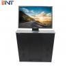 24 Inch black matt/silver Computer Monitor Pop Up Lift Manufactures