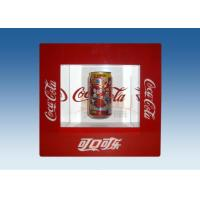 Window Shape Red Acrylic Levitation Floating Display With Silk Screen Printing Manufactures