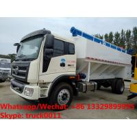 2018s cheapest price FOTON LHD 160hp LOVOL diesel 20m3-22m3 bulk feed pellet truck for sale, poultyr feed truck Manufactures