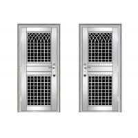 Aluminum Alloy / Stainless Steel Residential Doors Strong Corrosion Resistance Manufactures
