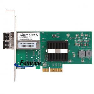 Femrice PCIe x4 Intel I350 Gigabit Network Interface Card 1000Mbps Dual Port Gigabit Ethernet Server Network Adapter Manufactures