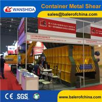 China WANSHIDA Automatic Scrap Shear/Container Shear for propane tanks Manufactures