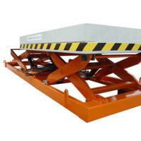 1.2m industrial Stationary Scissor Lift , aerial hydraulic lifting platform for Work Shop Manufactures
