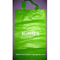 Quality Biodegradable Personalized Plastic Grocery Bags With Loop Handle for sale