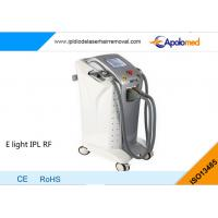 China Acne therapy E light ipl rf skin tightening equipment for anti aging on sale