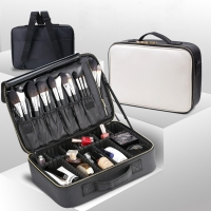 Multifunctional L38*D10*H27CM Makeup Bag Case With Handle Manufactures
