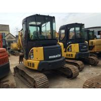 LB 5160kg Used Crawler Excavator Komatsu PC55MR , Used Mini Trackhoes For Sale  Manufactures