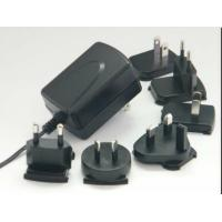 Interchangeable Plug Wall Mount Power Adapter With 15W / 18W / 24W AC Manufactures