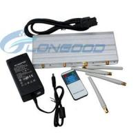 Quality Jammer Adjustable Cell phone Jammer with Remote Control for sale