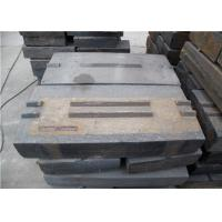 Martensitic Steel Blow Bars Wear - Resistant For Granite Crusher Machine Manufactures