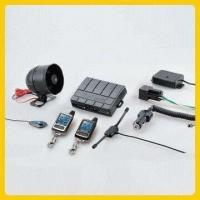 Car Alarm with 5-button Rechargeable 2-way LCD Transmitters and Microwave/Tilt Sensor Manufactures