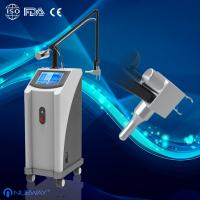 Quality 30W RF Pipe Fractional CO2 Laser Acne Scar Removal Laser Surgical Machine for sale