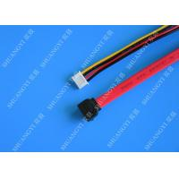 Quality Female 22-pin to Male 7-pin SATA Data & Molex HSG Data Extension Cable for sale