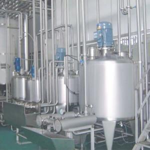 5000T/H SUS304 Fresh Liquid Pasteurization UHT Milk Production Line Manufactures