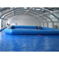 Large 0.9mm PVC Tarpaulin Inflatable Family Pool For Entertainment Center Manufactures