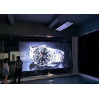 Big Size Transparent Glass LED Display SMD3535 1R1G1B P10 LED Video Wall Manufactures