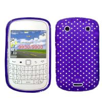 Purple Cell Phone Protective Cases For Blackberry With Mini Dot Manufactures