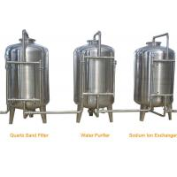 Stainless Steel RO Industrial Water Treatment Machine for Water Filling Line Manufactures