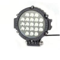 63W 7 Inch Led Driving Lights For CarsFlood /Spot Black Red Yellow Driving Led Work Lights Manufactures