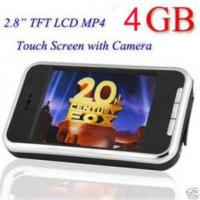 2.8inch TFT touch mp4 player with camera Manufactures