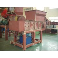 45KW Industrial Plastic Shredding Machine PLC , plastic recycling machines Manufactures