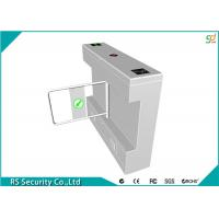 Intelligent Swing Turnstile Security Systems Pedestrian , Bank Scenic Manufactures