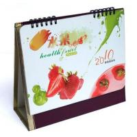 Quality Desktop Customized Calendar Printing Service in CMYK or PMS Color for advertisin for sale