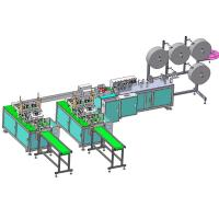 Semi-automatic KN95 Face Mask Making Machine,Customized N95 Face Mask Production Machine Manufactures