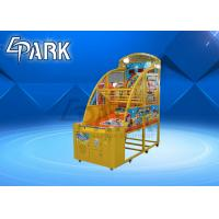 Small Coin Operated Arcade Basketball Game Machine For Kids Attract And Exciting Manufactures