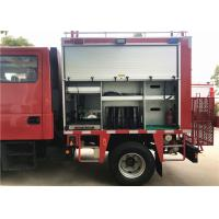 Chassis HALE pump Foam Fire Truck With 115L Plastic Fuel Tank Manufactures