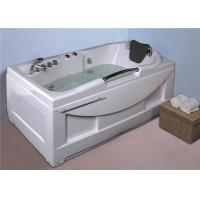 Cheap  whirlpool bathtub / jacuzzi  white color hot tub with handle shower Manufactures