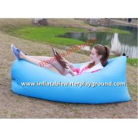 Nylon Lamzac Hangout Portable Inflatable Sleeping Bag Fashion With 200 * 90 CM Size Manufactures