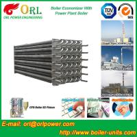 Water Tube Boiler Stack Economizer Alloy Steel , Power Plant Economizer For Boiler Manufactures