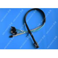 Internal SFF 8087 To SATA SAS Serial Attached SCSI Cable 75cm With Sideband SGPIO Manufactures