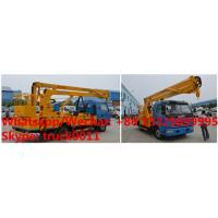 factory sale 2018s 14m-16m fold arm type High altitude working platform Aerial truck crane truck with working bucket Manufactures