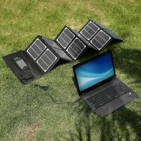 China Outside Camera /  Ipad Solar Panel Charger 40W DischargingProtection on sale